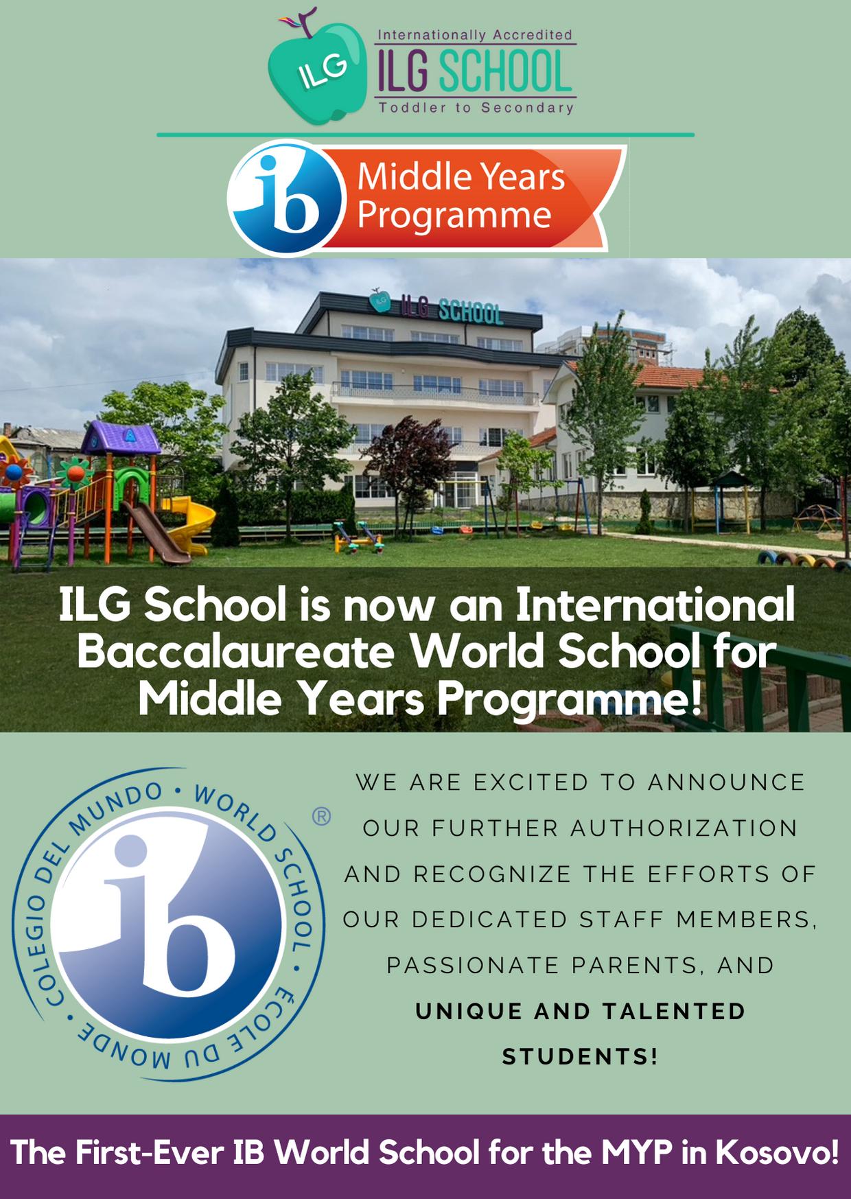 IB MYP SCHOOL - KOSOVO